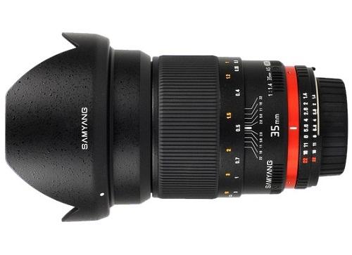 Ống kính Samyang 35mm T1.5 VDSLR II