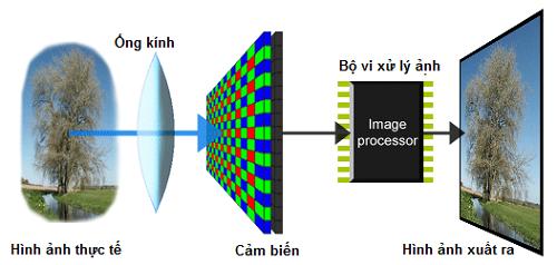 Khám phá vi xử lí trên máy ảnh kĩ thuật số
