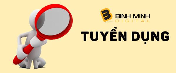 Binhminhdigital - thông báo tuyển dụng nhân sự tháng 11