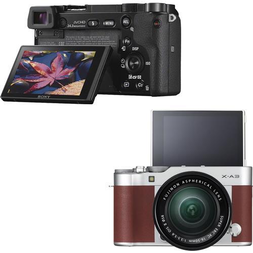 So sánh máy ảnh Fujifilm X-A3 và máy ảnh Sony A6000