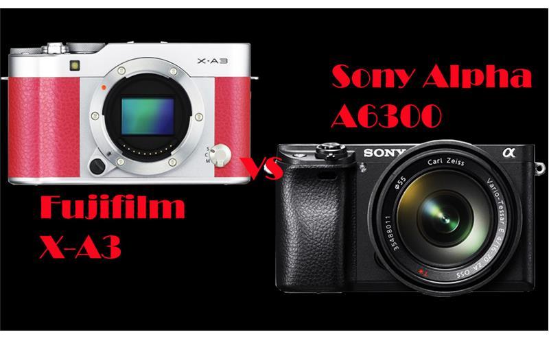 Fujifilm X-A3 và Sony Alpha A6300