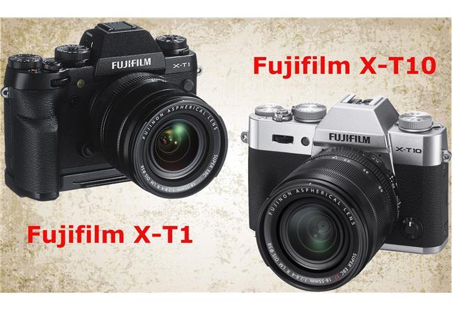 So sánh Fujifilm X-T1 và Fujifilm X-T10