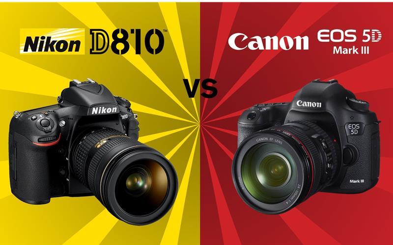 So sánh Canon 5D Mark III và Nikon D810