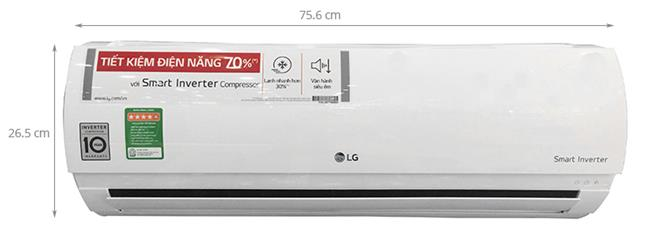 Top máy lạnh inverter LG tốt nhất cho mùa hè này