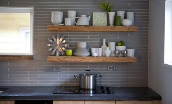 Những cách bài trí đơn giản cho không gian nhà bếp rộng hơn