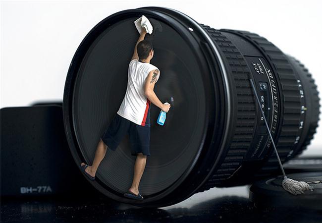 Hãy vệ sinh máy ảnh đúng cách