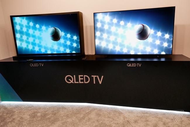 So sánh tivi QLED và tivi OLED của Samsung
