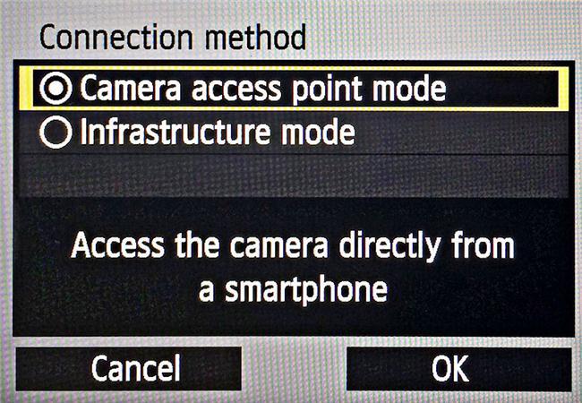 Sử dụng Wifi trên máy ảnh Canon như thế nào?