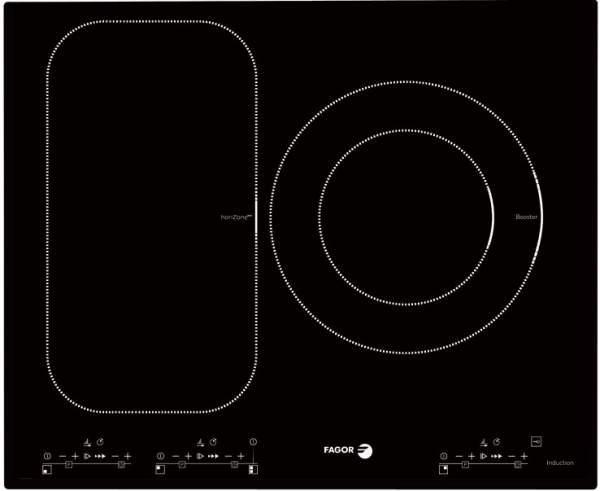 HoriZonetech - công nghệ vùng nấu linh hoạt trên bếp điện từ Fagor
