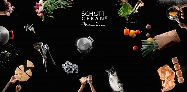 Mặt kính SCHOTT CERAN - công nghệ cho bếp điện từ, bếp gas