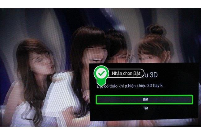 Làm thế nào để bật chế độ 3D trên tivi Sony đời 2015?