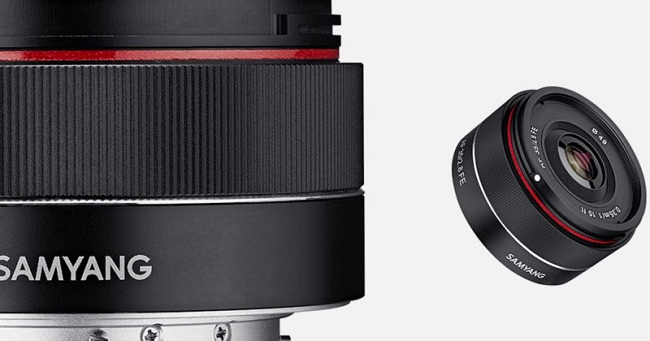 Ra mắt ống kính Samyang 35mm f2.8 có tính năng tự động lấy nét
