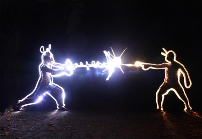Cùng tìm hiểu nghệ thuật vẽ bằng ánh sáng