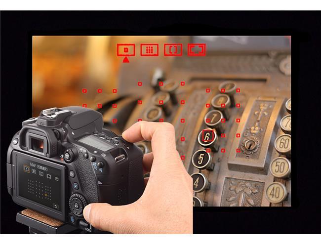 Hệ thống lấy nét 45 điểm cross-type của máy ảnh Canon 80D lợi hại tới đâu?
