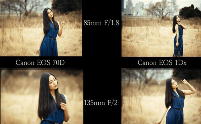 So sánh chất lượng hình ảnh của body crop và fullframe gắn cùng một ống kính