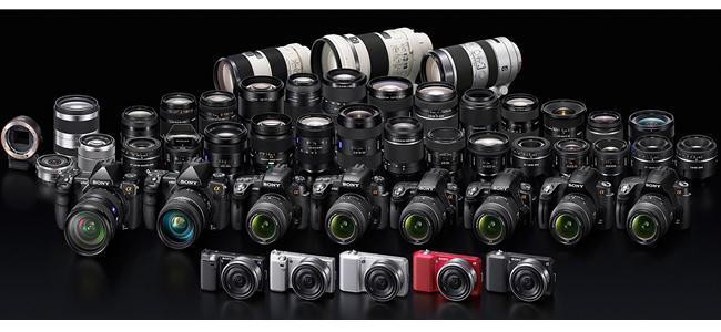 Tìm hiểu về đại gia đình máy ảnh Sony