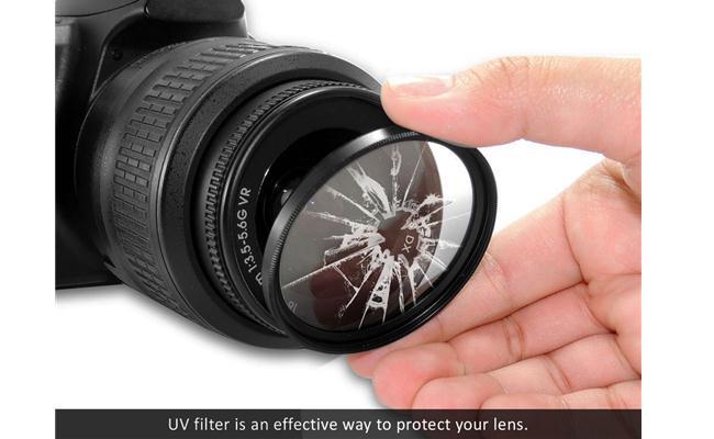 Tác dụng của việc sử dụng Filter UV cho ống kính máy ảnh