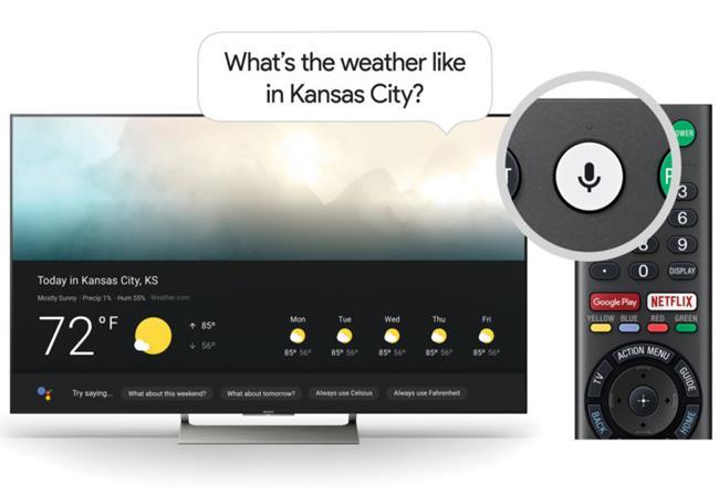 Tivi Sony gây ấn tượng khi được cập nhật Google Assistant