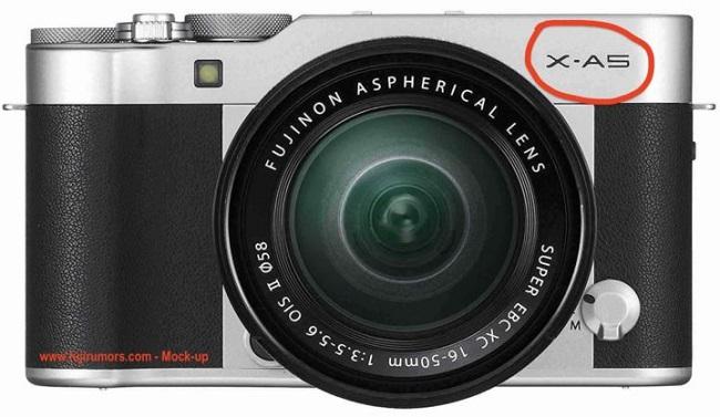 Lộ ảnh và bằng sáng chế máy ảnh Fujifilm X-A5 sắp ra mắt