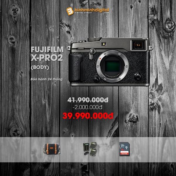 """Giảm giá """"bùng nổ"""" khi mua máy ảnh và ống kính Fujifilm tại Binhminhdigital dịp cuối năm"""