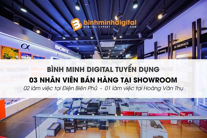 Nhân Viên Kinh Doanh Bán Hàng Tại Showroom Binhminhdigital