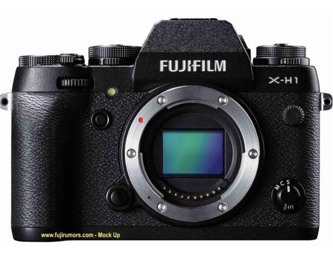 Fujifilm hé lộ model mới X-H1 trong phần mềm X Raw Studio