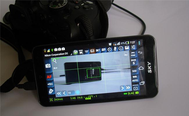 Chụp ảnh từ xa với thiết bị chạy hệ điều hành Android