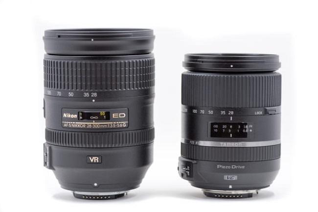 So sánh Nikon 28-300mm và Tamron 28-300mm
