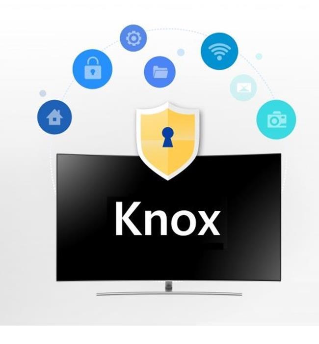 Smart tivi Samsung 2018 được tăng cường công nghệ bảo mật Samsung Knox tốt nhất thế giới