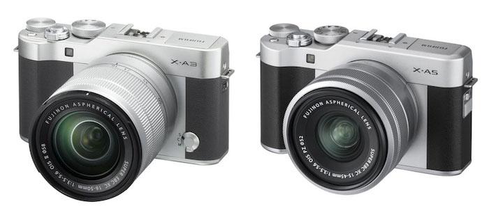 So sánh Fujifilm X-A5 vs X-A3
