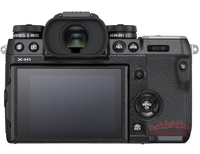 Những hình ảnh chính thức đầu tiên về máy ảnh Fujifilm X-H1
