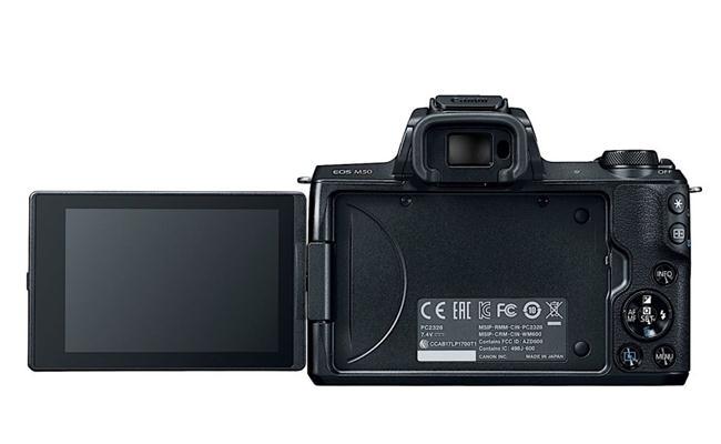Soi cấu hình của máy ảnh Canon EOS M50, máy ảnh mirrorless Canon đầu tiên có khả năng quay phim 4K