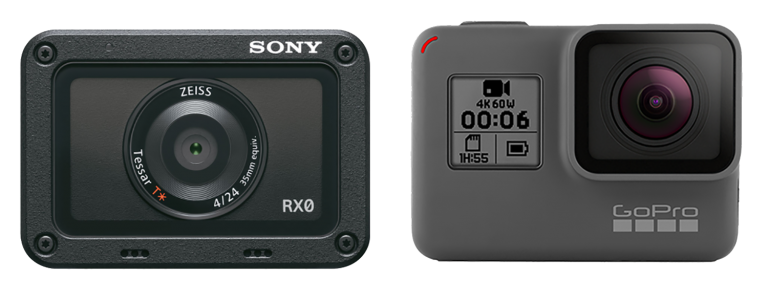 So sánh Sony RX0 và GoPro Hero 6