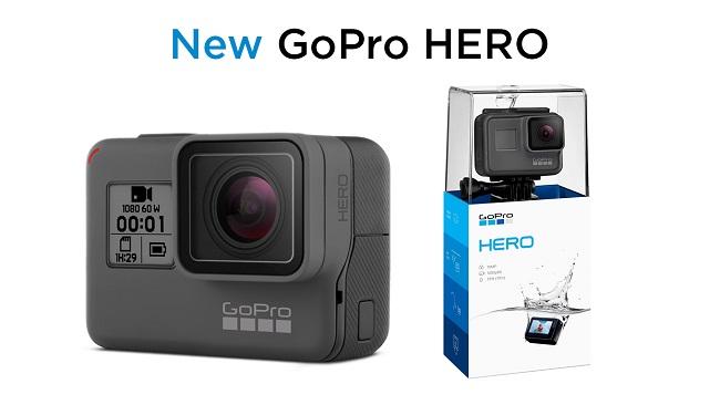 So sánh phiên bản Gopro Hero 2018 với Gopro Hero 5 và Gopro Hero 6