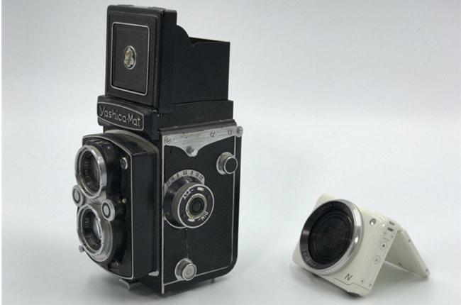 Cùng xem kết quả thí nghiệm độ máy ảnh kỹ thuật số lên thân máy ảnh phim