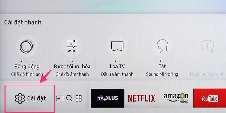 Hướng Dẫn Cách Dò Kênh Trên Smart Tivi Samsung 2017
