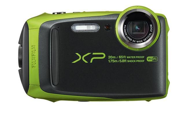 Máy ảnh Fujifilm FinePix XP120 (Đen viền xanh lá)