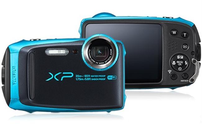Máy ảnh Fujifilm FinePix XP120 (Đen viền xanh ngọc)