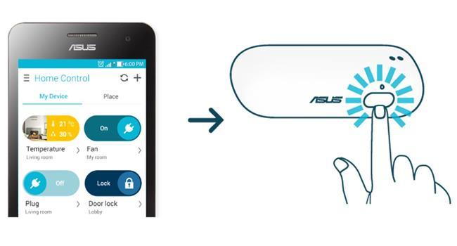 ASUS SmartHome Temperature/Humidity Sensor TS101
