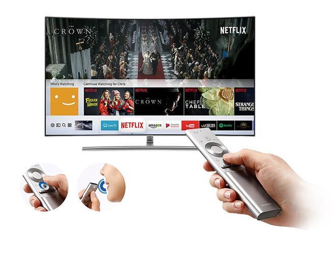 Tivi Samsung 55Q8C (Internet TV, Màn Cong, 4K HDR, 55 Inch)