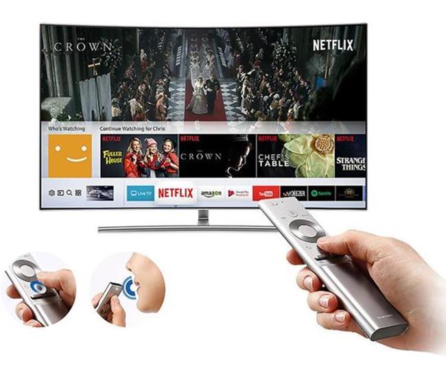 Tivi Samsung 65Q8C (Internet TV, Màn Cong, 4K HDR, 65 Inch)