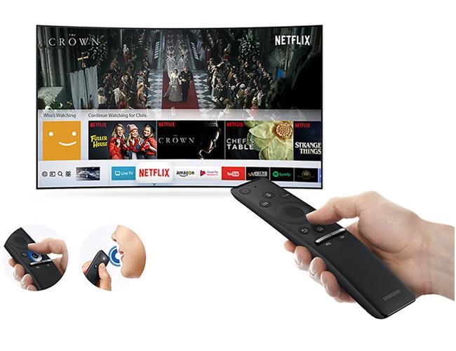 Tivi Samsung 65MU9000 (Internet TV, Màn Cong, 4K Ultra HD , 65 Inch)