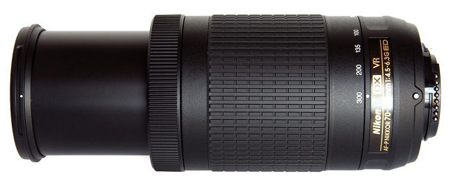 Ống Kính Nikon AF-P DX NIKKOR 70-300mm F/4.5-6.3G ED VR (Hàng nhập khẩu)