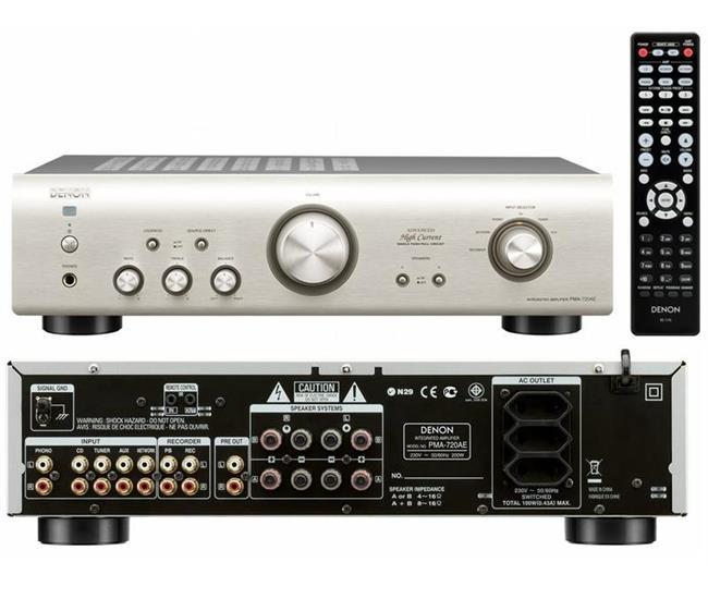 Ampli Denon PMA-720AE BK/SP