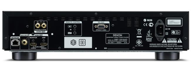 Đầu Blu-ray Denon DBT-3313UD BK