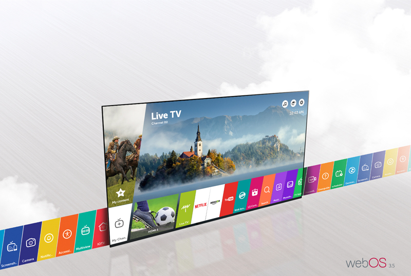 Tivi LG 55LJ550T (INTERNET TV, Full HD, 55 Inch)
