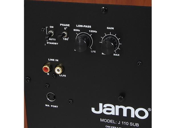 Loa Jamo J 110 SUB DARK APPLE CE