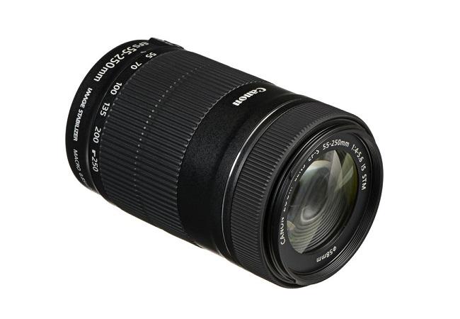 ỐNG KÍNH CANON EF-S55-250MM F/4-5.6 IS STM (HÀNG NHẬP KHẨU)