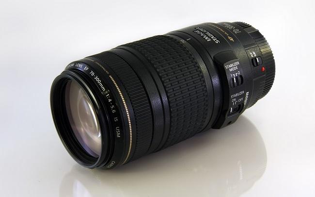 Ống Kính Canon EF 70-300mm F4-5.6 IS USM (hàng nhập khẩu)