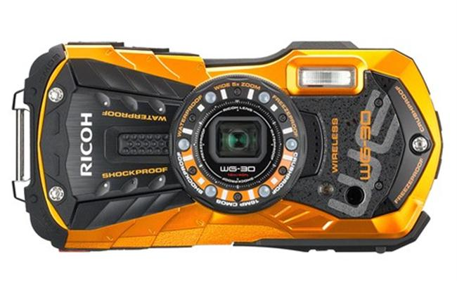 Máy ảnh Ricoh WG-30 Wi-fi (đen)